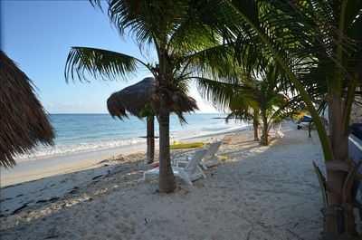 Relax....imagine a private beach without the crowds