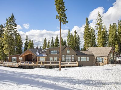 Photo for Blue Mountain Majesty 10BR/12BA Rustic Elegant ski-in/ski-out Northstar Getaway