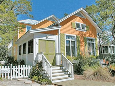 Teachers Lounge - Exterior - Cottage Rental Agency Seaside, Florida