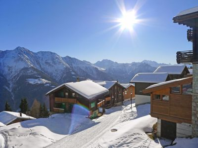 Photo for 3 bedroom Apartment, sleeps 5 in Bettmeralp with WiFi