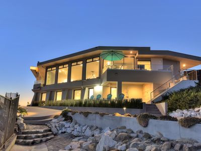 """Photo for """"One of a Kind"""" Contemporary Oceanfront Luxury Villa on Twin Lakes Beach"""