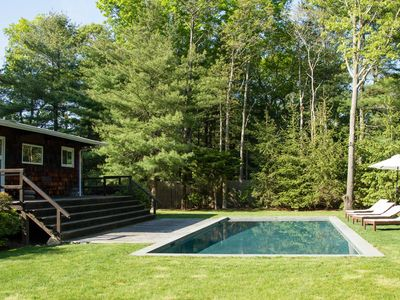 Photo for East Hampton Home w/Pool & Fire Pit - Near Village