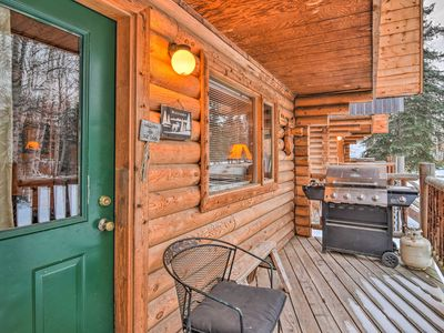 Photo for Ideally Located Wasilla Cabin w/Grill near Chugach