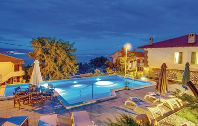 Photo for Stone villa with large pool, 500 meters from the beach, with fantastic views
