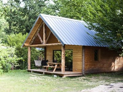 Photo for Camping Huttopia Dieulefit *** - Shack 3 Rooms 4/6 People