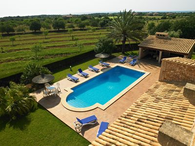 Photo for VILLA SES FIGUERES WITH POOL AND FREE INTERNET AVAILABLE FROM 23. 08.-09. 09.