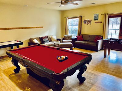 Photo for Creekside Cabin/Game Room/Hot Tub/ Sleeps 16