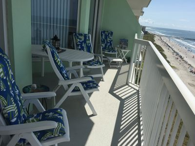 Photo for Awesome Cherry Grove Oceanfront Paradise Pointe Condo, Early Booking Discount