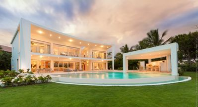 Photo for Dream Luxury Villa in Punta Cana, fully staffed near ocean and golf views