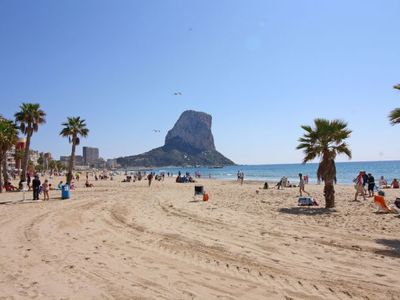 Photo for Calpe Apartment, Sleeps 7 with Air Con and WiFi