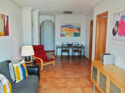 Photo for Fabulous 2 bed, family-friendly apartment with pool and UK TV.
