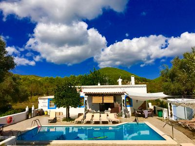 Photo for House Villa in Ibiza / 5 DOUBLE bedrooms 3 BATHROOMS 2 Kitchens /pool