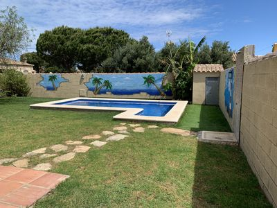 Photo for beach, pool, quiet area and rest.