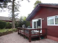 lovely lodge, very clean, well equiped with a nice little private garden area to sit out in.