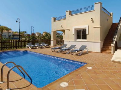Photo for 3 bedroom Villa, sleeps 6 in Las Casicas with Pool, Air Con and WiFi