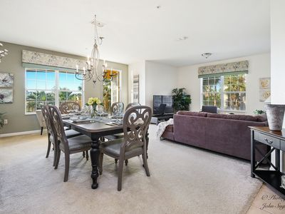 Photo for Huge, New Vista Cay Lake View Escape, near Universal, walk to Convention Centre