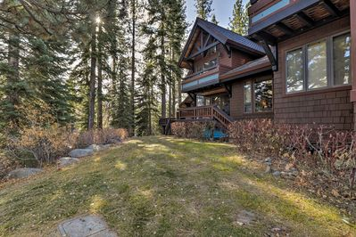 You'll have 2 private decks and gorgeous views of Lake Tahoe from each of them!
