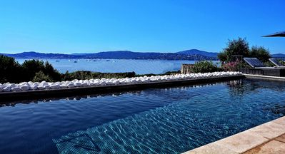 Photo for Contemporary French Riviera Villa With Heated Swimming Pool And Only 3 Minutes F
