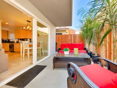 Photo for 25% OFF SEP - Spacious Home w/ Patio, Steps to Beach, Shopping & More