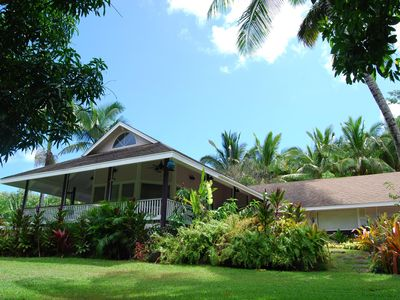 Photo for Elegant Secluded Beach Estate Plantation in Moloaa Bay, Hi (Kauai) TVR 4180