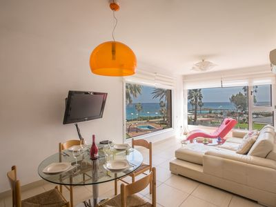 Photo for Apt. Tonya, 2BDR Modern Apartment, with Communal Pool and stunning seaviews