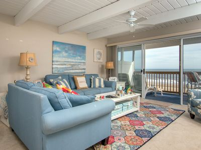Photo for Ocean Villa is a direct oceanfront building with beautiful ocean views from this one bedroom unit