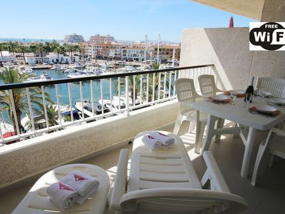 Photo for Apart-Rent-Apartment with canal and sea view (0175)