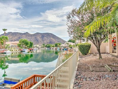 Photo for NEW! Cozy Waterfront Glendale Home w/ Patio & Dock