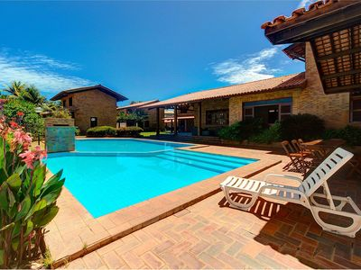 Photo for Large house with jacuzzi and pool in Porto das Dunas