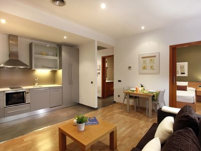 Photo for Places4stay Ramblas 1 Bedroom Apartment