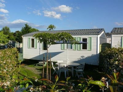 Photo for 1640 feet from the beach, nice and modern Mobile home, very good value for money