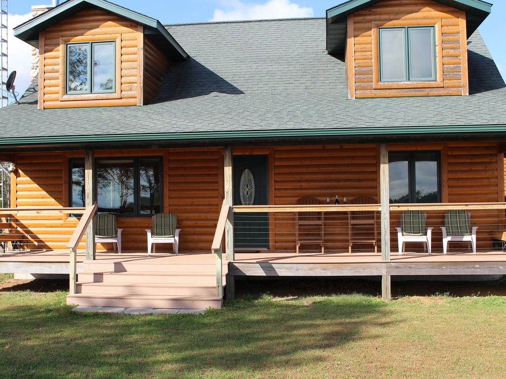 Lakeview prairie cabin homeaway for Vrbo wisconsin cabins