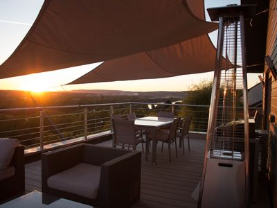 Photo for The Canadian home in the Yvelines.  Breathtaking view of the Seine & forest