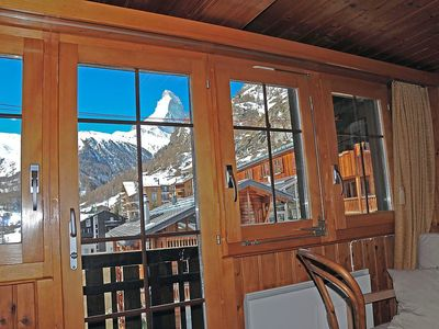 Photo for Apartment in the center of Zermatt with Internet, Balcony (45969)