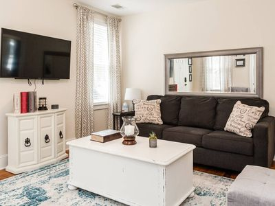 Photo for Walking distance to downtown, local restaurants, & The Spanish Moss Trail
