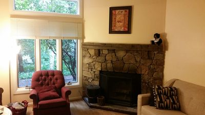Photo for 1 BR condo w/ internet sleeps 4.  Only 2 min walk to top of Mt.