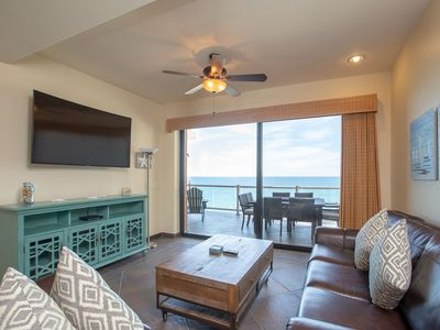 Photo for STUNNING 2BR/2BA OCEAN FRONT Phase 2 Close to Beach - King Bunk Beds & Remodeled
