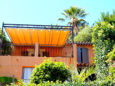 Photo for MAS PROVENCAL With heated pool beach 400 m in the Gulf of St TROPEZ