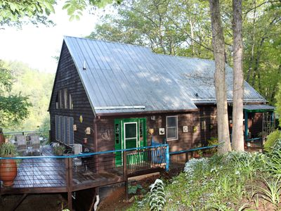 Photo for Let Your Imagination Run Wild at This Unique and Charming New River Home!