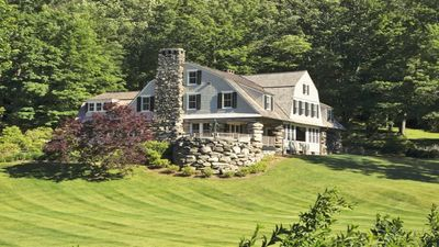 """the 11,000 square foot main house, the former   """"Boulders Inn"""""""