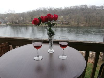 Photo for # 9 is a two bed room condo with great view of Lake Taneycomo