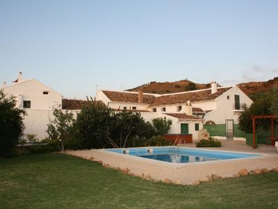 Photo for Rural house (rental) Cortijo Alzamigaja for 24 people