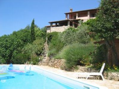 Photo for Villa with Pool and Territorial Views; Small Village