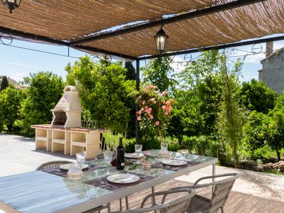 Photo for Bright house with terrace and orange garden