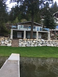Photo for New Listing! Waterfront Oasis w/Amazing Views. Private Doc. 15 min drive to town
