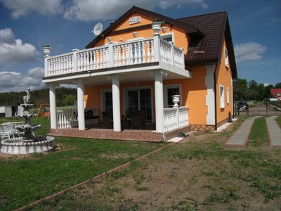 Photo for New beautiful house between ueckermünde heath & Szczecin Lagoon for 10 per.