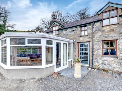 Photo for On the owners' small farm is Pant yr Hyddod, a semi-detached cottage in Snowdonia National Park with