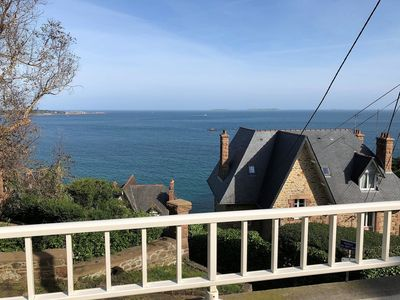 Photo for SUPERB SEA VIEW apartment, completely renovated in 2018 in PERROS-GUIREC