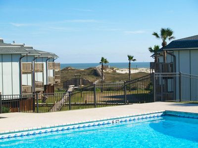 Photo for 2 bedroom 2 bath condo located at waterfront Beachhead. Heated Pool!