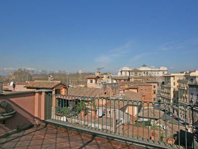 Photo for Piazza Navona Wonderful 2 bedrooms apartment Rooftop Terrace